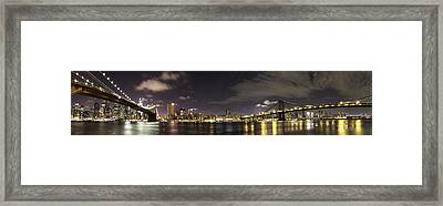 Doble Puente Framed Print by Alex Ching