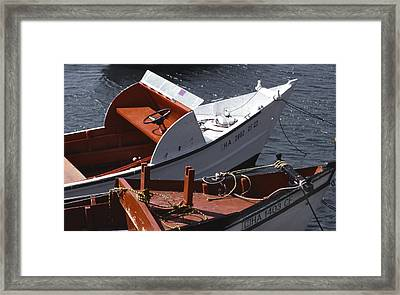 Dock Framed Print