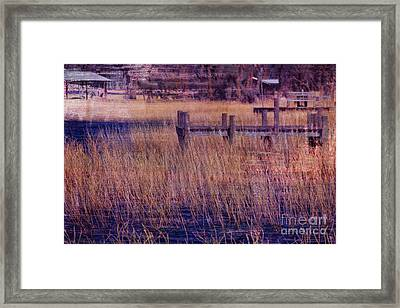 Dock On The Bay Framed Print