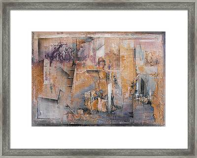 Dock Side Framed Print by Ralph Levesque