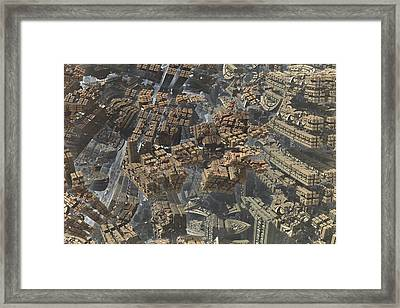 Docking Framed Print by Jacob Bettany