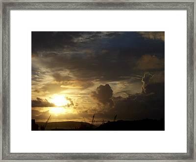Docks 8am Framed Print by Matt Swann