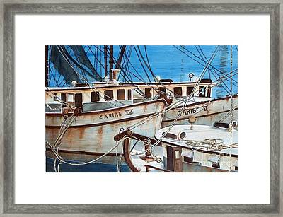 Dockside    Sold Prints Available Framed Print