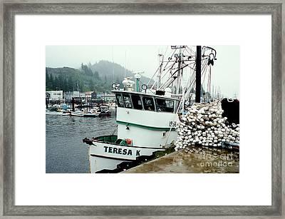 Dockside Framed Print by Frank Townsley