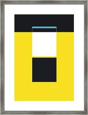 Dod Framed Print by Naxart Studio