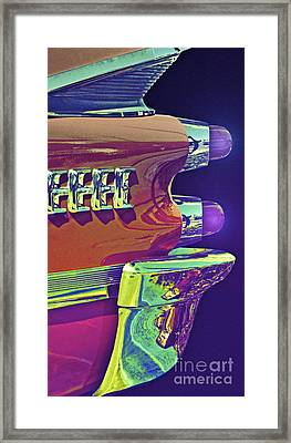 Dodge Custom Royal Framed Print by Gwyn Newcombe