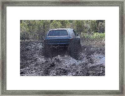 Dodge Ramcharger In Local Mud 2 Framed Print