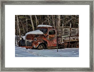 Dodge Framed Print