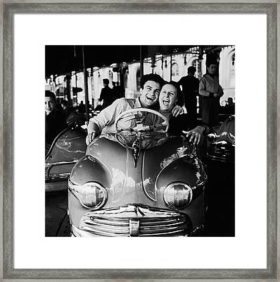 Dodgems Fans Framed Print by Archive Photos