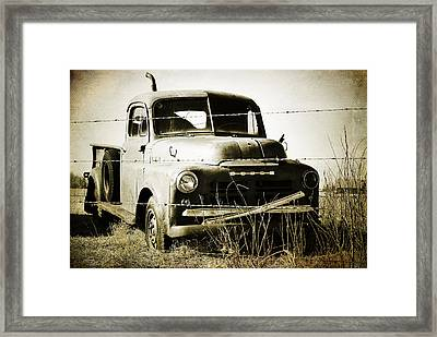 Dodging The Wires  Framed Print