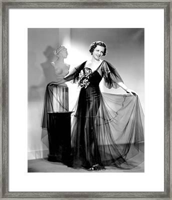 Dodsworth, Mary Astor, 1936 Framed Print