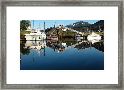 Does Anyone Have A Mirror Framed Print by Susan Stephenson
