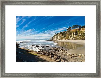Dogs Alone Framed Print by Graeme Knox