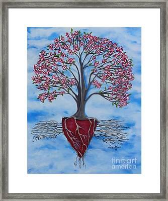 Dogwood Greentree Proverb Framed Print