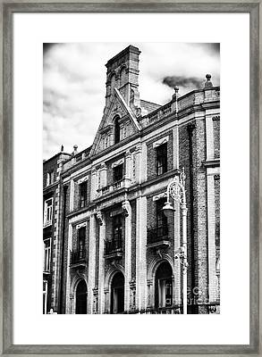 D'olier Chambers Framed Print by John Rizzuto