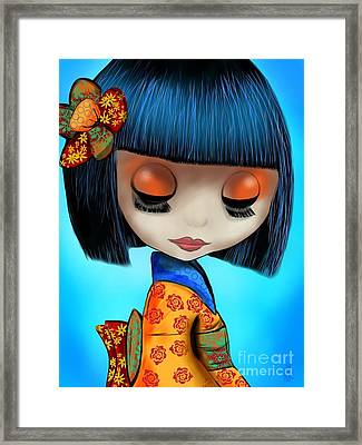 Doll From The East Framed Print