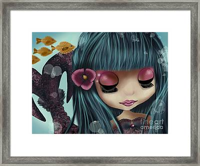 Doll From The Sea Framed Print