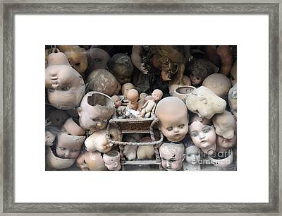 Doll Parts Framed Print by Ed Rooney