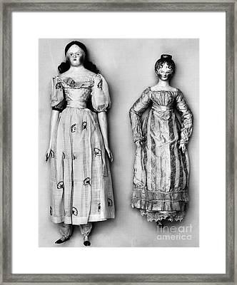 Dolls, 1790s Framed Print by Granger