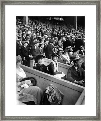 Dolly Sisters In Box Seats Framed Print