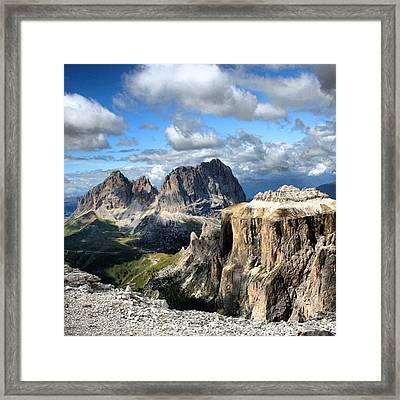 Dolomites Framed Print