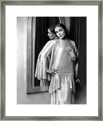 Dolores Del Rio, 1929 Framed Print by Everett