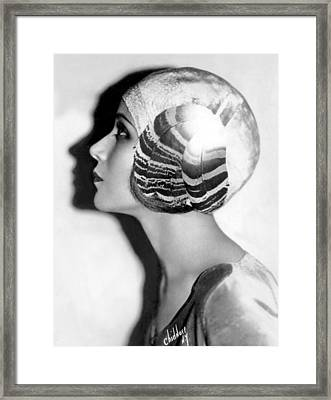 Dolores Del Rio, January 31, 1929 Framed Print by Everett