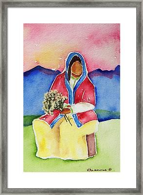 Dolores Framed Print by Regina Ammerman