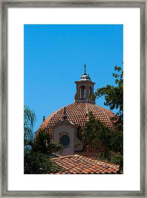 Framed Print featuring the photograph Dome At Church Of The Little Flower by Ed Gleichman