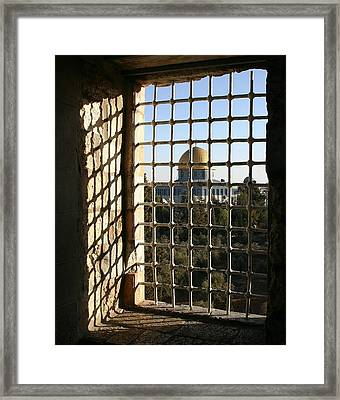 Dome Of The Rock Framed Print by Tia Anderson-Esguerra