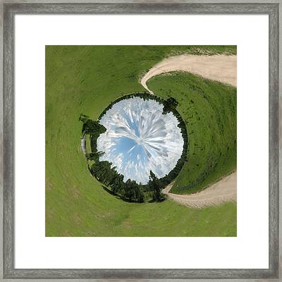 Dome Of The Sky Framed Print