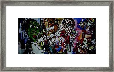 Dominoes Framed Print by Brent Eric Allison