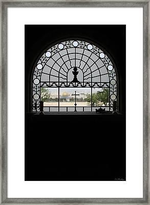 Dominus Flevit Church Mount Of Olives Framed Print by Jennifer Kathleen Phillips