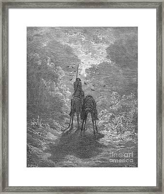 Don Quixote Framed Print by Granger