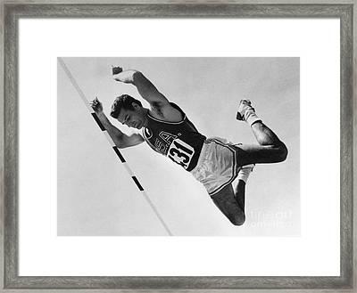 Donald Bragg (1935- ) Framed Print by Granger