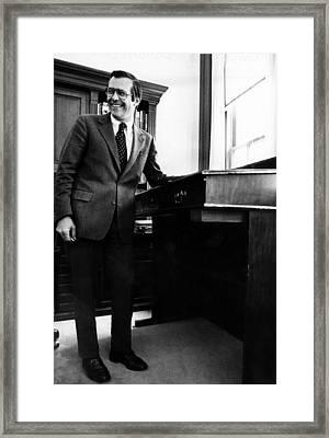 Donald Rumsfeld, White House Chief Framed Print