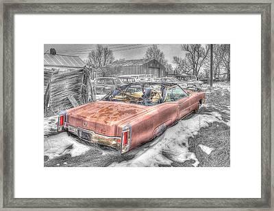 Done Cruisin' Framed Print