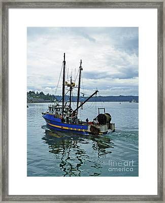Done For The Day Framed Print by Methune Hively