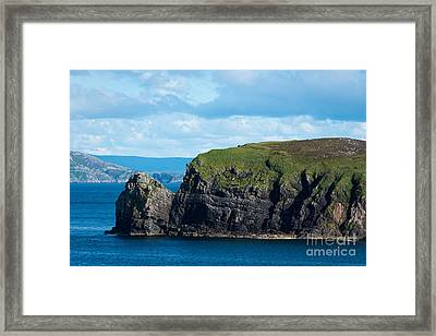 Donegal Seascape Framed Print by Andrew  Michael