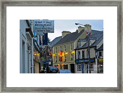 Donegal Town Framed Print by Black Sun Forge
