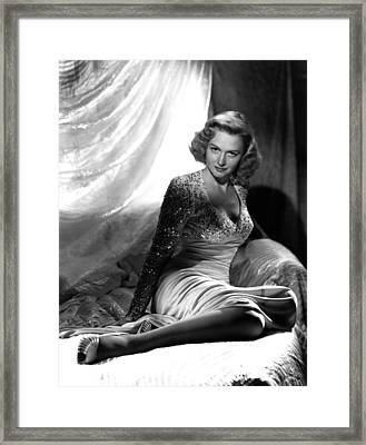 Donna Reed, 1947 Framed Print by Everett