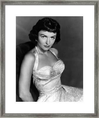 Donna Reed, Ca. 1950s Framed Print by Everett