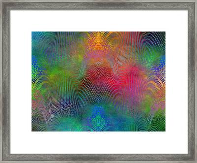 Dont Fence Me In 2 Framed Print by Tim Allen