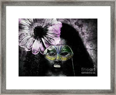 Don't Look At Meee Framed Print