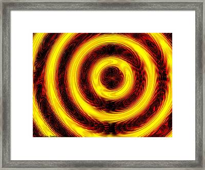 Don't Stop The Music Framed Print by Jen Sparks