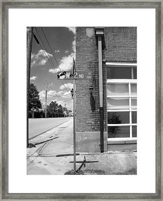 Don't Waste A 2nd Framed Print by A Skulskie