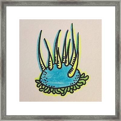 #doodle #drawing #art #design Framed Print