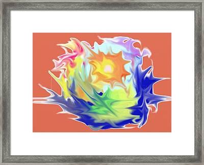 Doodle8 Framed Print