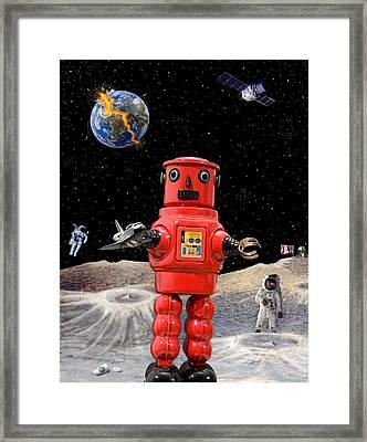 Doomsday Escape Framed Print