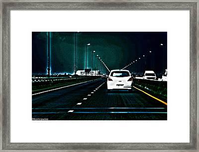 Doomway Framed Print by Kornrawiee Miu Miu